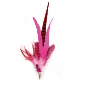 Feder Carmen Color Pink/ Rot