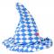 Wackelhut blau-weiß