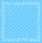 Nicki-Halstuch hellblau