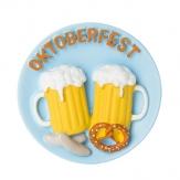 Oktoberfest Bayerischer Teller Magnet