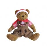 FC Bayern Teddybär Tracht Lederhose, 40cm