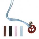 Hofbräuhaus Halskette mit Minibrezn Schwarz